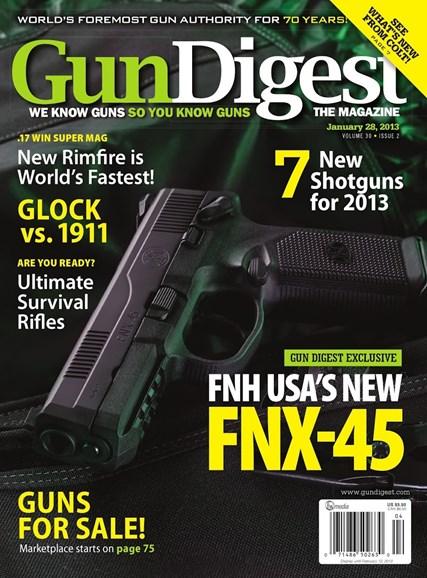 Gun Digest Cover - 1/28/2013