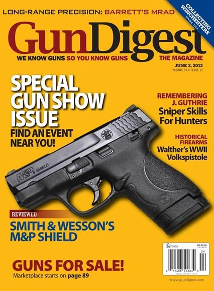 Gun Digest Cover - 6/3/2013