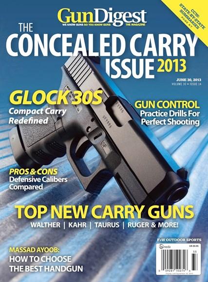 Gun Digest Cover - 6/30/2013