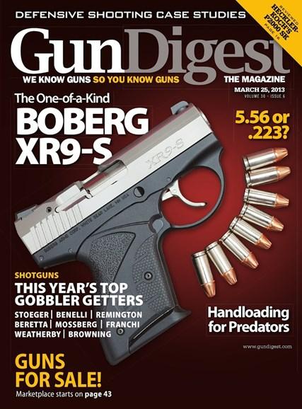 Gun Digest Cover - 3/25/2013