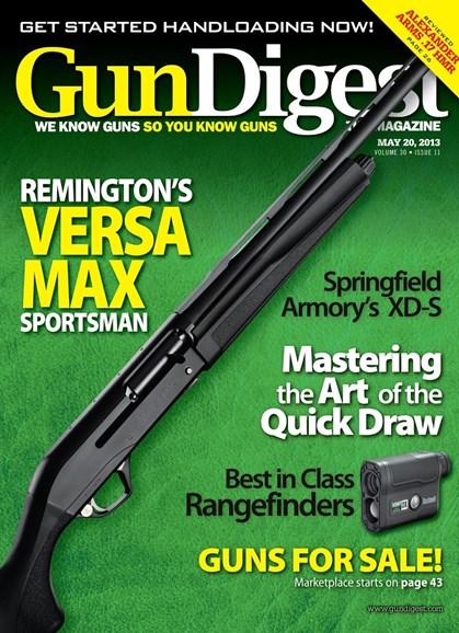 Gun Digest Cover - 5/20/2013