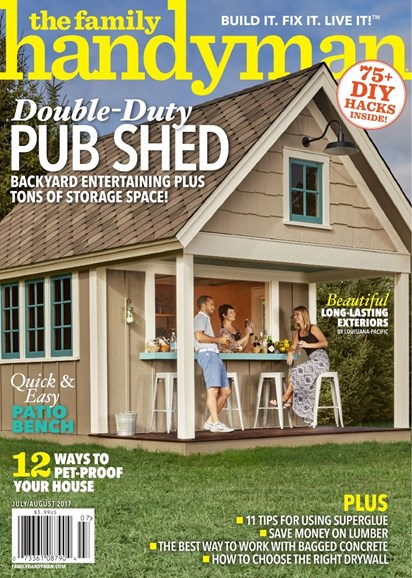 The Family Handyman Cover - 7/1/2017