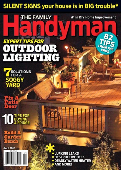 The Family Handyman Cover - 4/1/2016