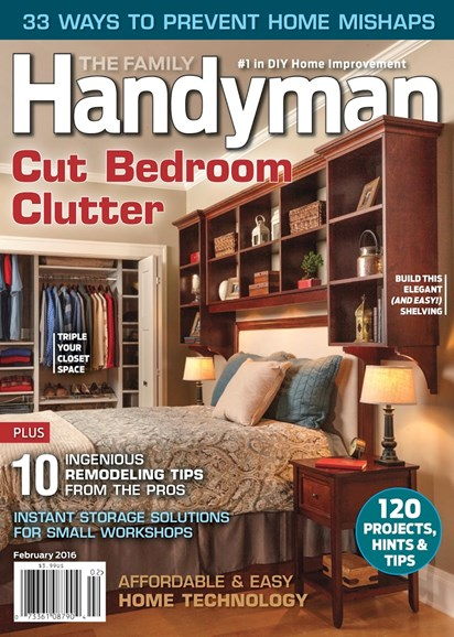 The Family Handyman Cover - 2/1/2016