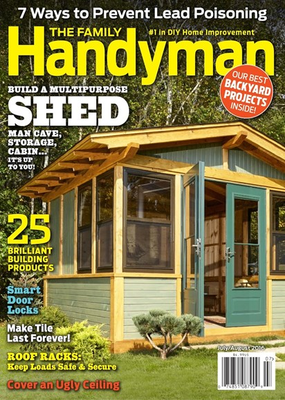 The Family Handyman Cover - 7/1/2016