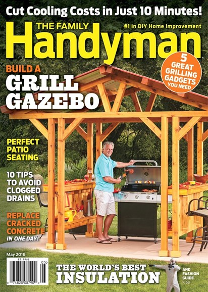 The Family Handyman Cover - 5/1/2016