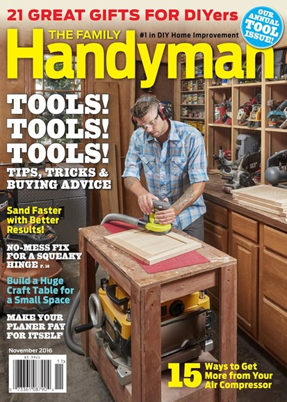 The Family Handyman Cover - 11/1/2016