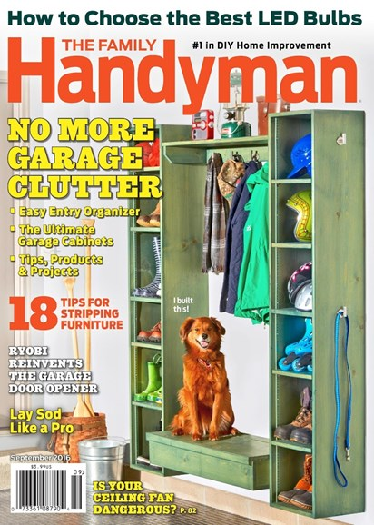 The Family Handyman Cover - 9/1/2016