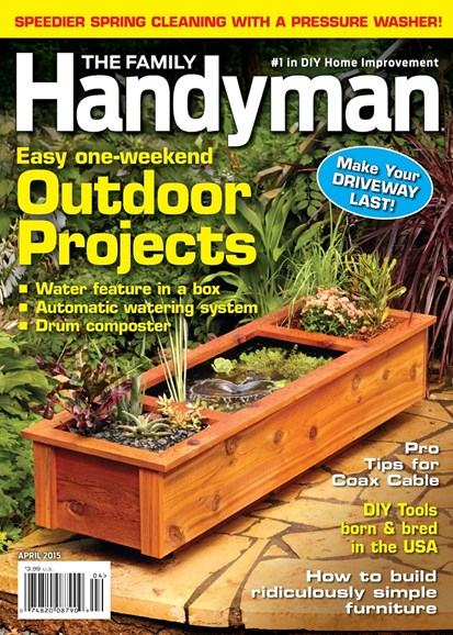 The Family Handyman Cover - 4/1/2015