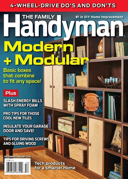 The Family Handyman Cover - 12/1/2015