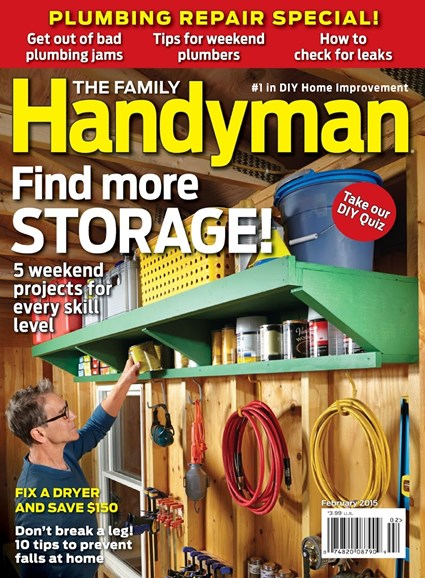 The Family Handyman Cover - 2/1/2015