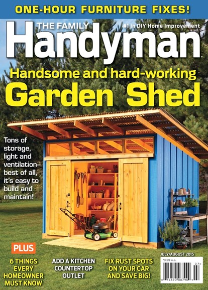The Family Handyman Cover - 7/1/2015