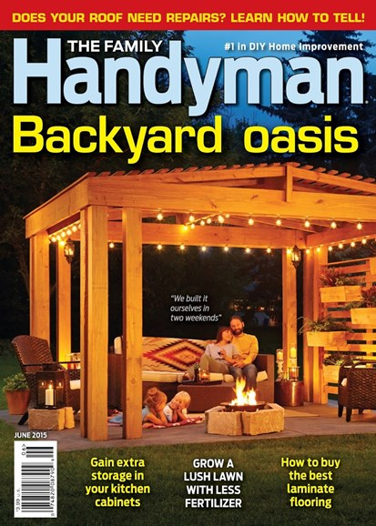 The Family Handyman Cover - 6/1/2015
