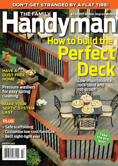 The Family Handyman Cover - 3/1/2015