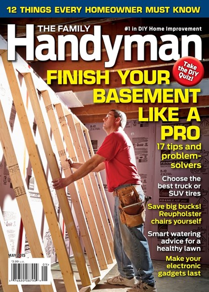 The Family Handyman Cover - 5/1/2015
