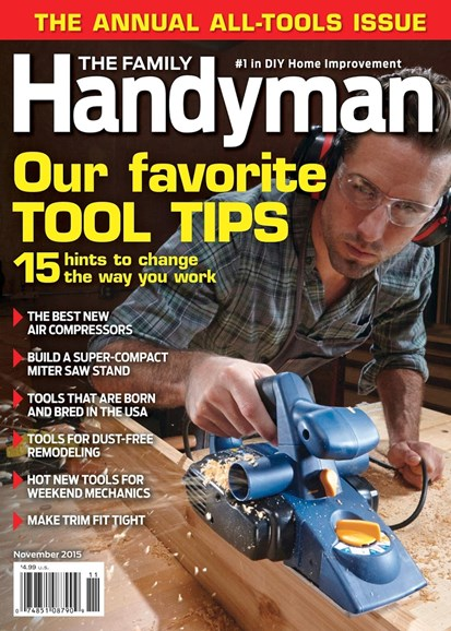 The Family Handyman Cover - 11/1/2015