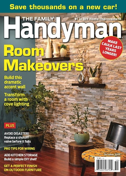 The Family Handyman Cover - 10/1/2015