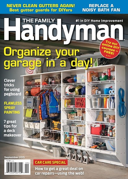 The Family Handyman Cover - 9/1/2015
