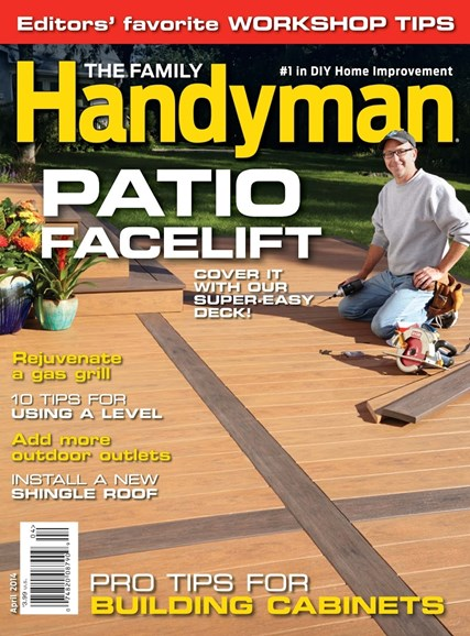 The Family Handyman Cover - 4/1/2014