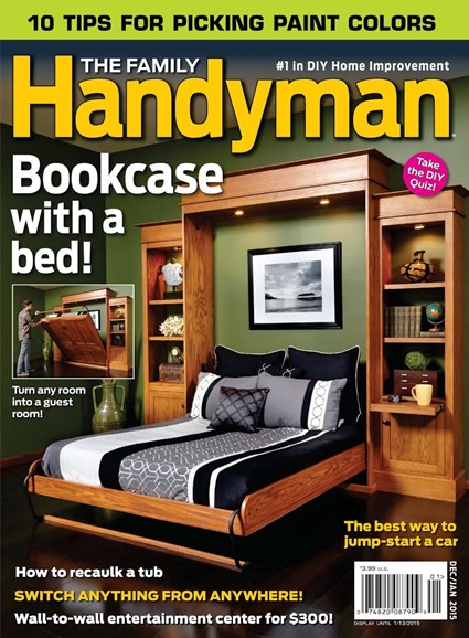 The Family Handyman Cover - 12/1/2014