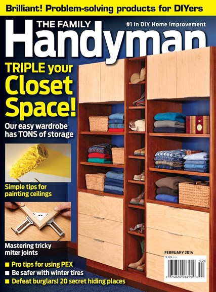 The Family Handyman Cover - 2/1/2014