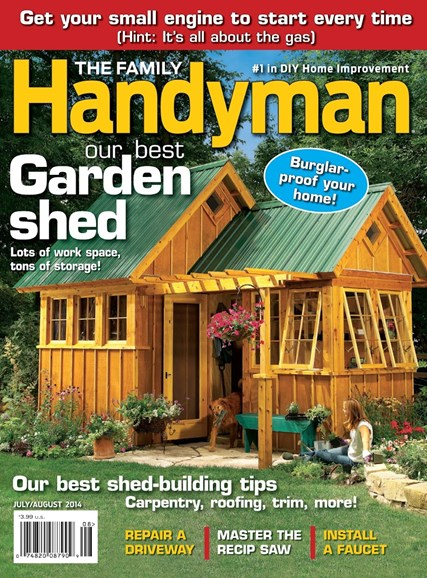 The Family Handyman Cover - 7/1/2014