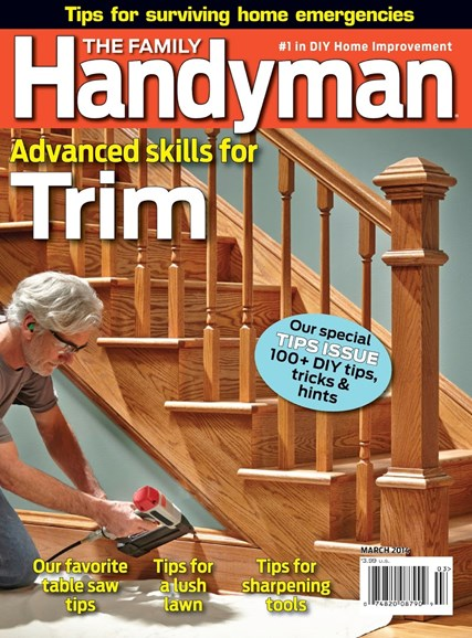 The Family Handyman Cover - 3/1/2014
