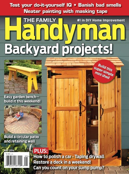 The Family Handyman Cover - 5/1/2014