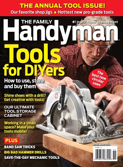 The Family Handyman Cover - 11/1/2014