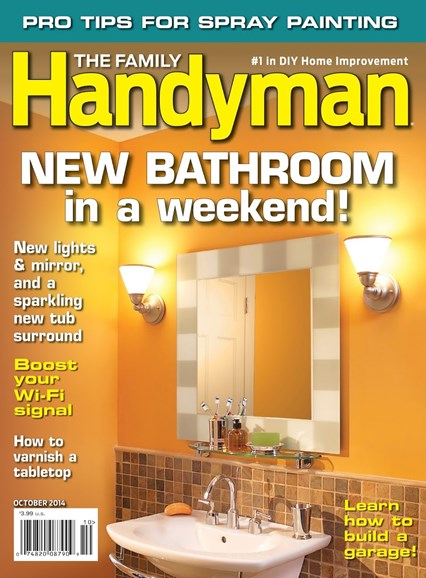 The Family Handyman Cover - 10/1/2014