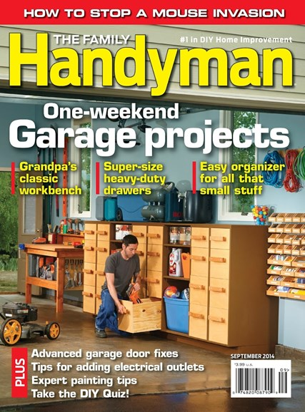 The Family Handyman Cover - 9/1/2014