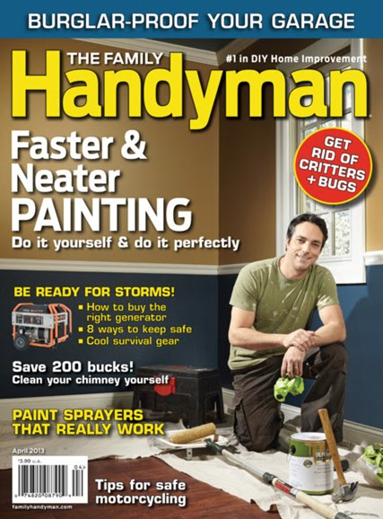 The Family Handyman Cover - 4/1/2013