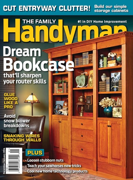 The Family Handyman Cover - 12/1/2013