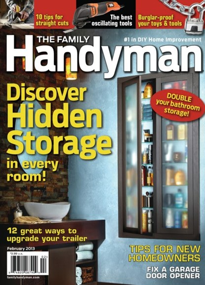 The Family Handyman Cover - 2/1/2013