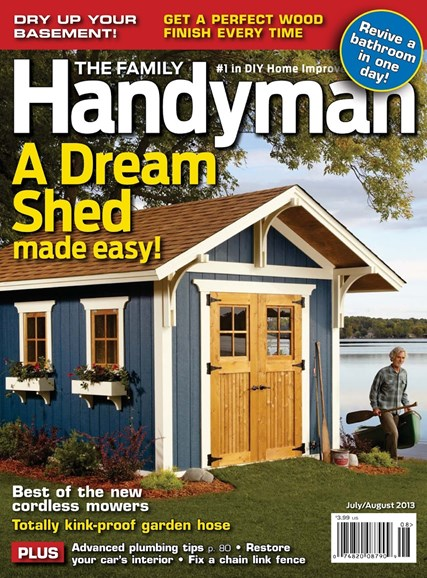 The Family Handyman Cover - 7/1/2013