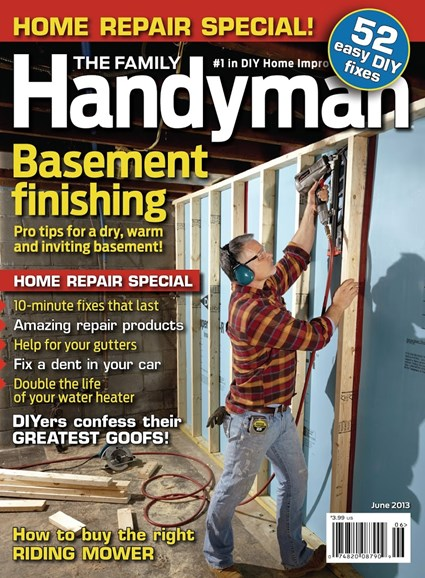 The Family Handyman Cover - 6/1/2013