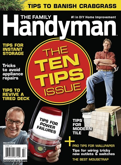 The Family Handyman Cover - 3/1/2013