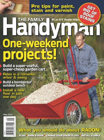 The Family Handyman Cover - 5/1/2013