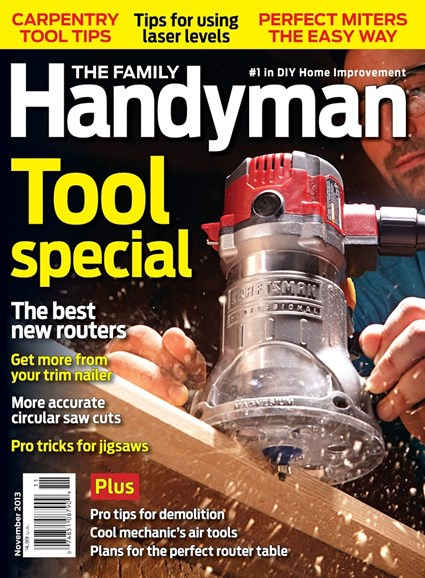 The Family Handyman Cover - 11/1/2013