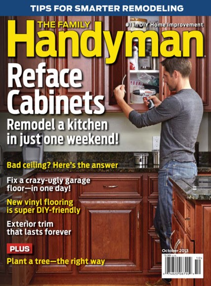The Family Handyman Cover - 10/1/2013