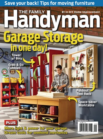 The Family Handyman Cover - 9/1/2013