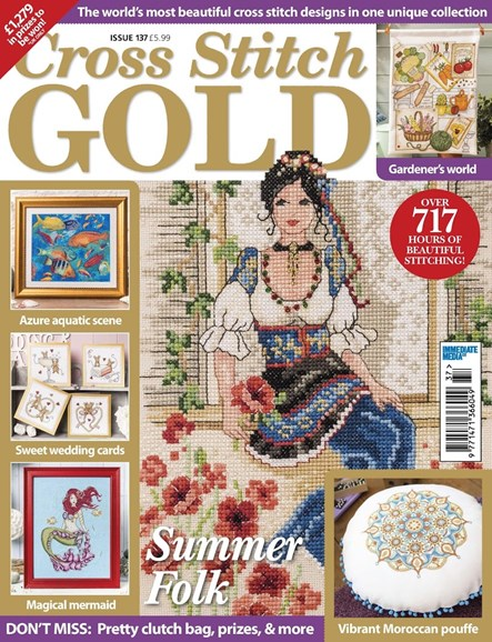 Cross Stitch Gold Cover - 3/1/2017