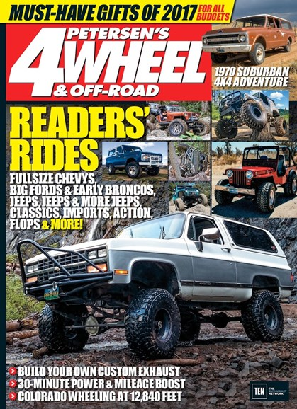 4 Wheel & Off-Road Cover - 2/1/2017