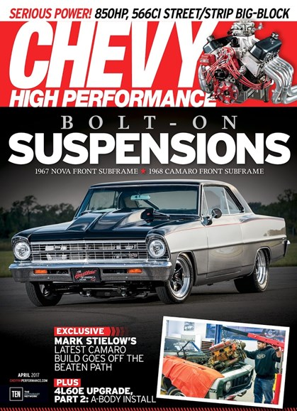 Chevy High Performance Cover - 4/1/2017