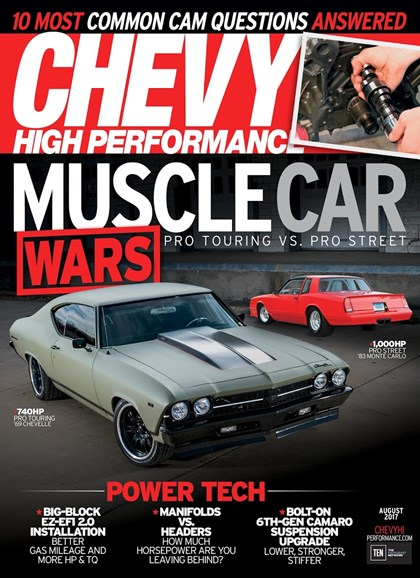 Chevy High Performance Cover - 8/1/2017