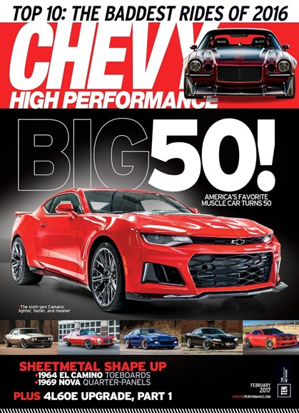 Chevy High Performance Cover - 2/1/2017