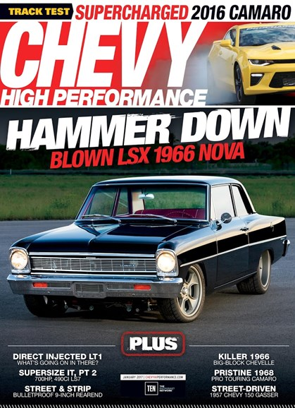 Chevy High Performance Cover - 1/1/2017