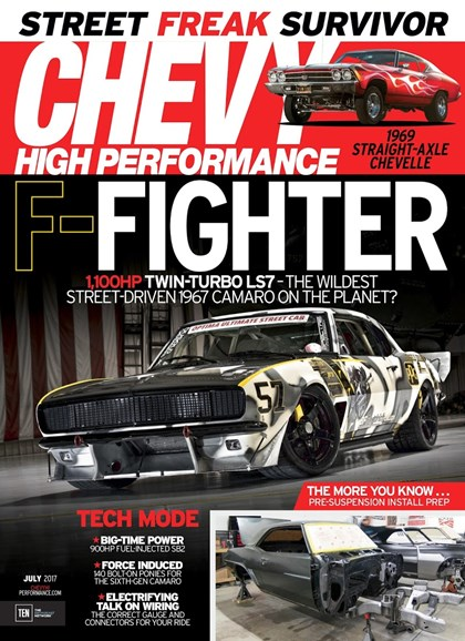 Chevy High Performance Cover - 7/1/2017