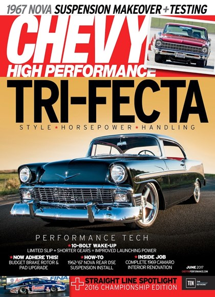 Chevy High Performance Cover - 6/1/2017
