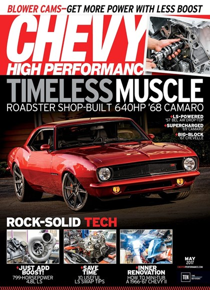 Chevy High Performance Cover - 5/1/2017